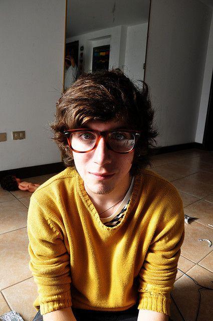 33 Cute Guys Wearing Glasses Retro Inspired Eyewear