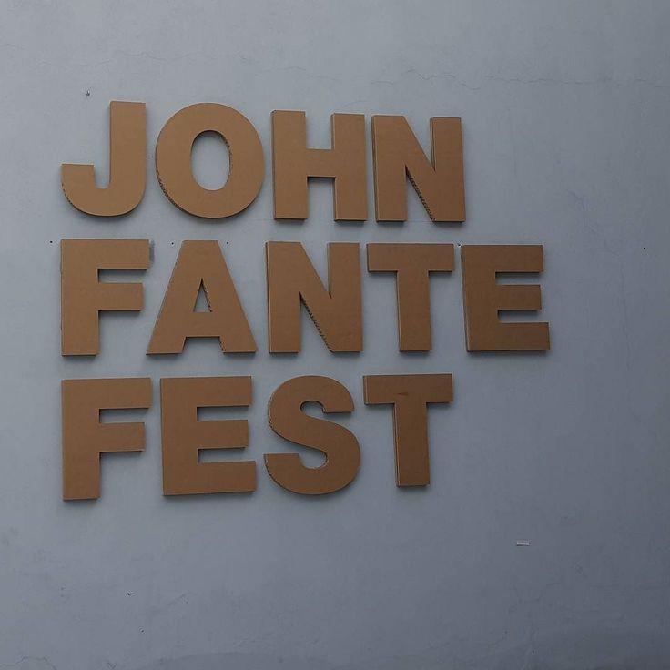 Siamo arrivati a Torricella Peligna  #johnfantefest