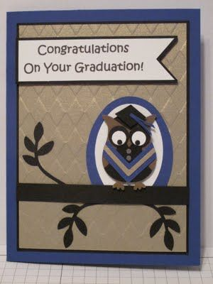 In My Craft Room: Owl Punchie - Grad Owl Card Share
