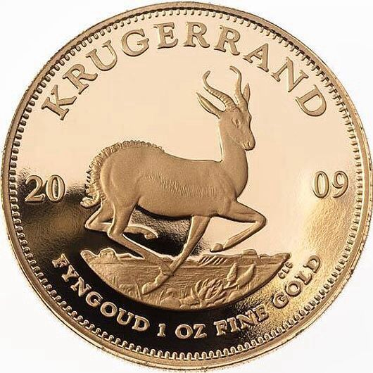 The South African Gold Krugerrand is one of the first bullion coins made for investment purposes. The 22K coins were first minted in 1967. The Gold Krugerrand was commercialized so well that in the 80s, they were 89% of all the gold bullion coin market.