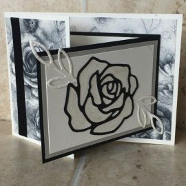 Sadly, there are times when you have to make a sympathy card, and I recently had one of those occasions, I felt the style and colour combinations really suited the mood for a sympathy card I neede…