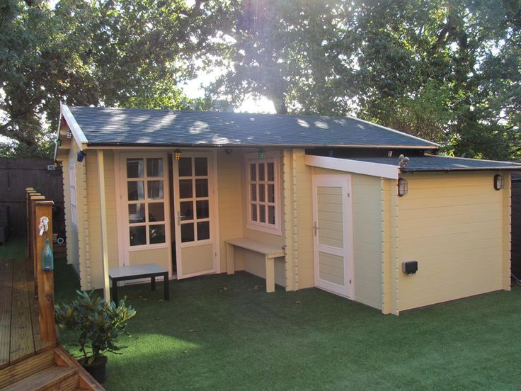1000 ideas about backyard storage sheds on pinterest for L shaped shed plans