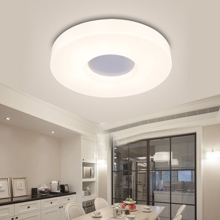 Ecolight 90 265V Led Ceiling Lights Modern Hallway Flush Mounted Acylic Aisle Bedroom Kitchen