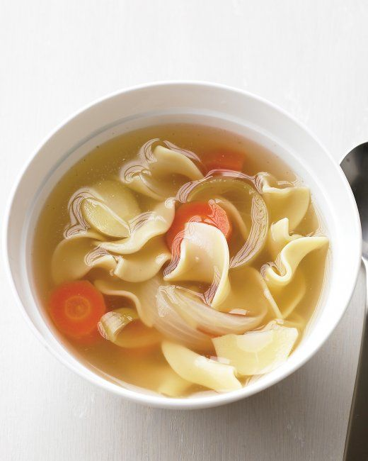 Simple Chicken Noodle Soup | Recipe