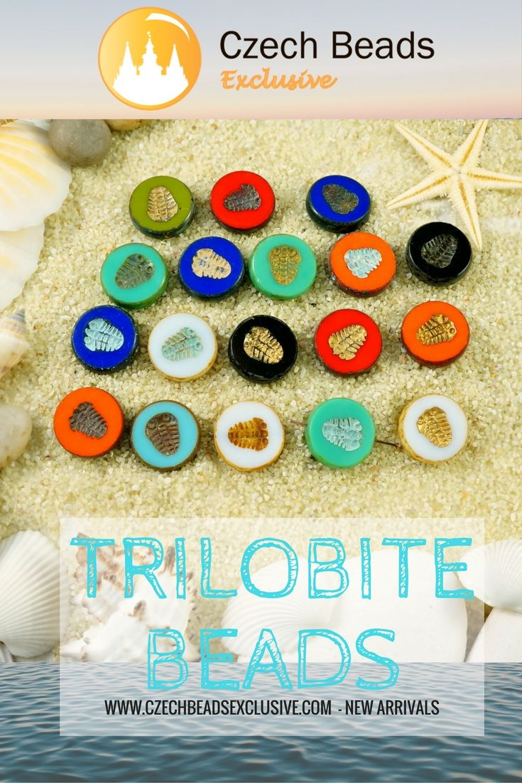 New Arrivals! New Shape! CZECH GLASS TABLE CUT TRILOBITE BEADS! 18 New Colors - Buy now with discount! Hurry up - sold out very fast! https://www.CzechBeadsExclusive.com/+trilobite SAVE them! Write in comments how you will use them + mention your shop link/account! ⚡️Lowest price from manufacturer! Get free gift! 1 shipping costs - unlimited order quantity!  Worldwide super fast ✈️ shipping with tracking number! Get high wholesale discounts! Sold with  at www.CzechBeadsExclusive.com…