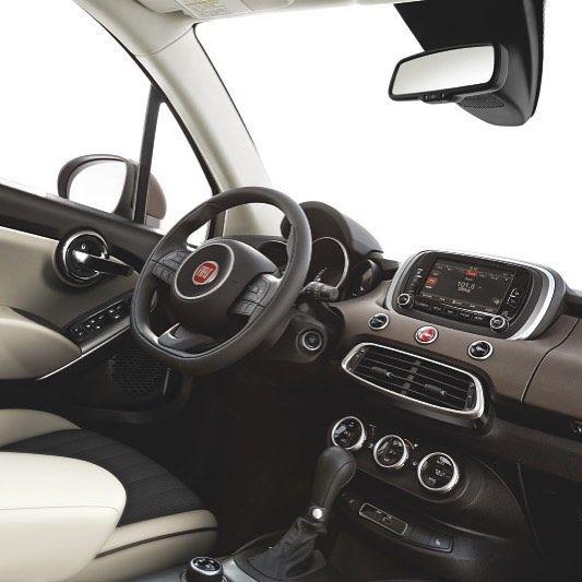 The welcoming interior of the FIAT #500X crossover.  # #FIAT #FIATUSA #Ciaobaby #FIATlove #500Love #FIATfamily #Italian #CarPorn #CarsWithoutLimits #ItalianStyle #ItalianCar #crossover #cars #auto #car #automotive #drive #autos #instacar #caroftheday #cargram #style #interior