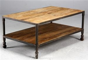 Lauritz.com - Moderne borde og stole - Sofabord industrielt design, genbrugsmaterialer - DK, Helsingør, Støberivej