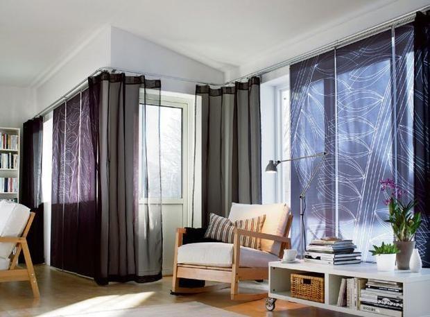 curtains + panels?