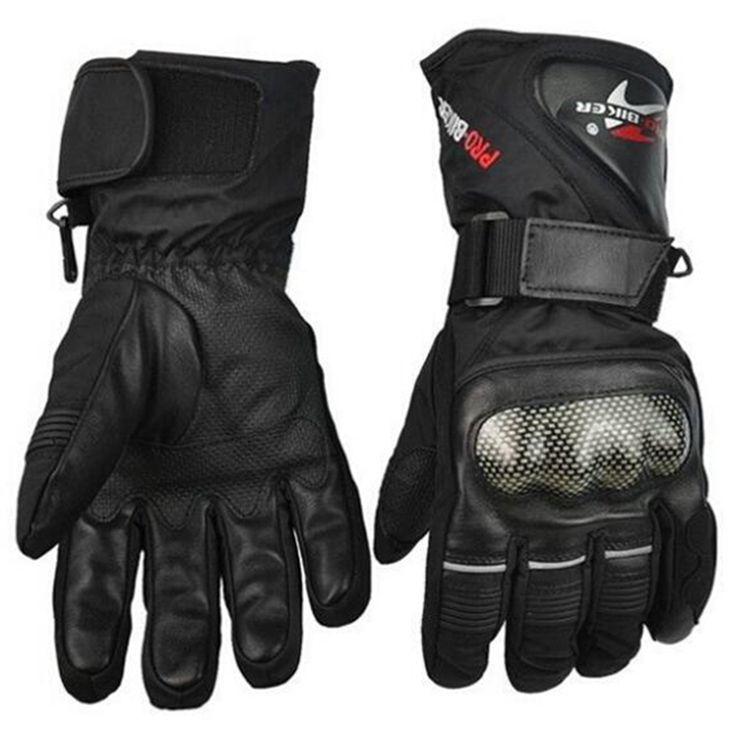 革手袋バイクオートバイ手袋冬防水防風保護ギアスポーツレーシングモトクロスモト手袋luvas
