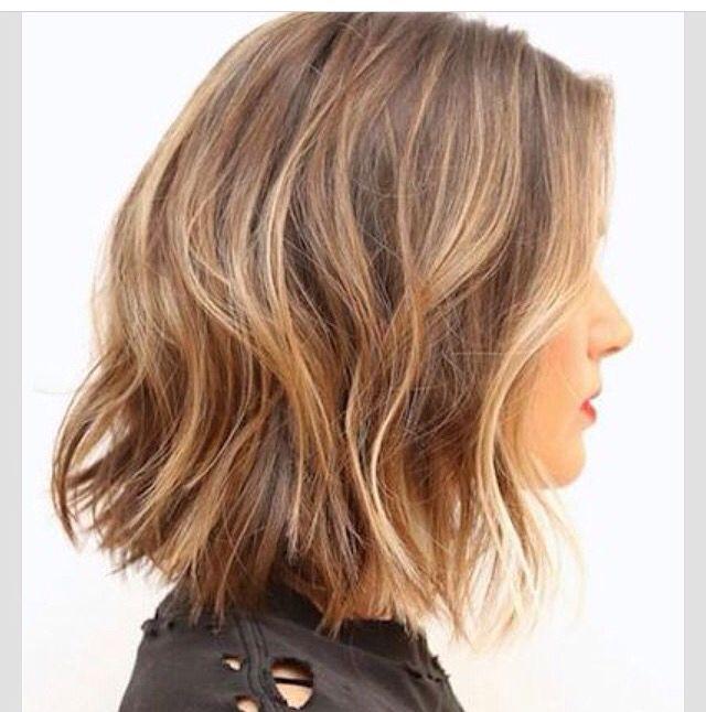 Hair length and colour