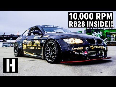 10 000 Rpm Skyline Powered Bmw M3 Yes Youtube Bmw M3