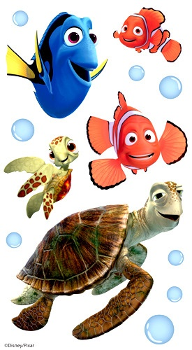 258 best images about cartoon fish on pinterest finding for Finding nemo fish names