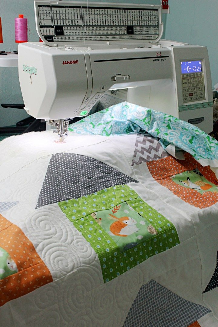 Baby Quilt Animal House Quilts For Children Pinterest Animal Fascinating How To Make A Baby Quilt With A Sewing Machine