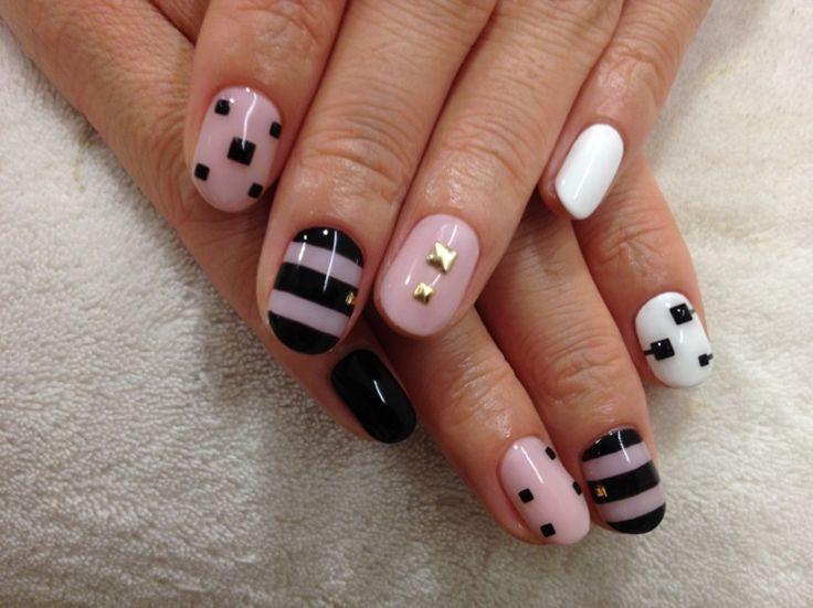 Me encantan este tipo de uñas