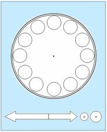 I am going to use this so my students can make their own clocks