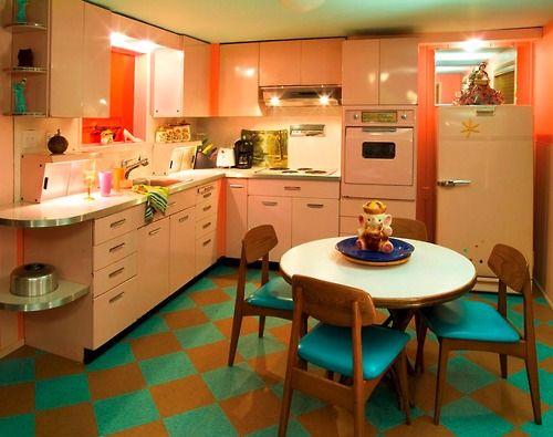 146 Best Vintage Kitchen Ideas Images On Pinterest Home Retro Kitchens And Dream Kitchens