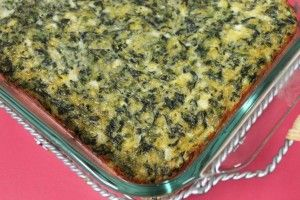 Spinach Squares | Side Dish | Pinterest