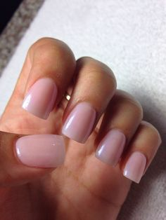 natural color acrylic nails - Google Search