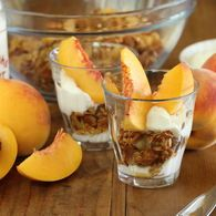 Almond and Orange Glaze Granola with Yoghurt - Maggie Beer