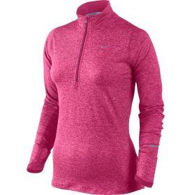 Nike Women's Element Half Zip Running Shirt [in Mint]