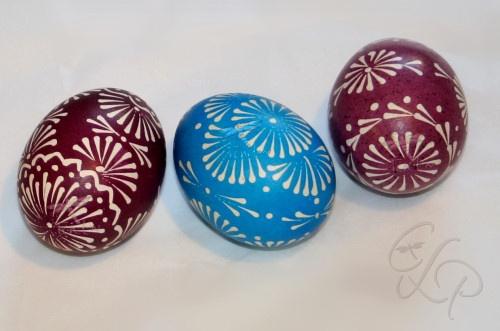 Beautiful lithuanian easter eggs