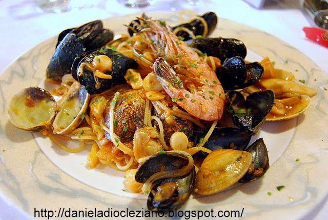 Daniela&Diocleziano: Profumo di mare : i miei spaghetti allo scoglio
