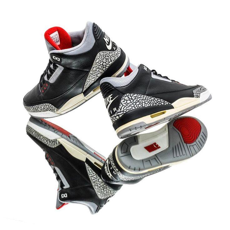 Air Jordan 3 Black Cement 2001 #sneakers #sneakernews #StreetStyle #Kicks #adidas #nike #vans #newbalance #puma #ADIDAS #ASICS #CONVERSE #DIADORA #REEBOK #SAUCONY