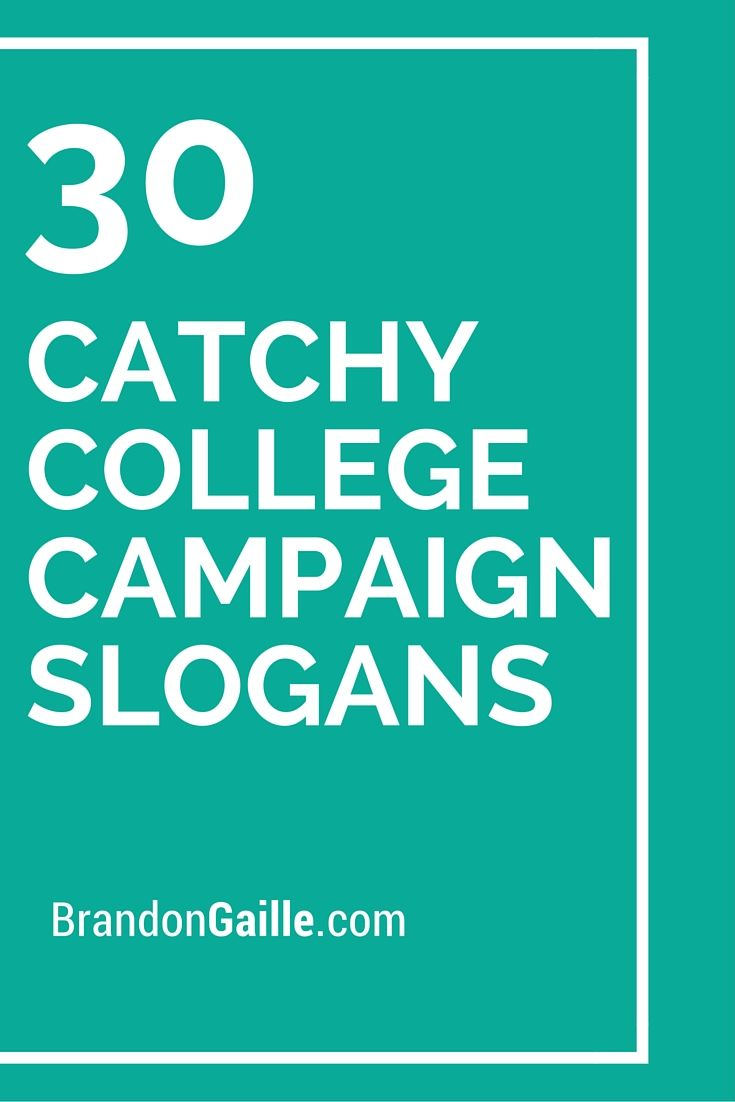 Funny College Slogans 121