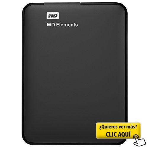 WD Elements - Disco duro externo de 1 TB (USB... #informatica