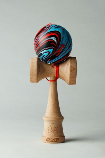 We trippy Sweets kendama red/black/blue #cool