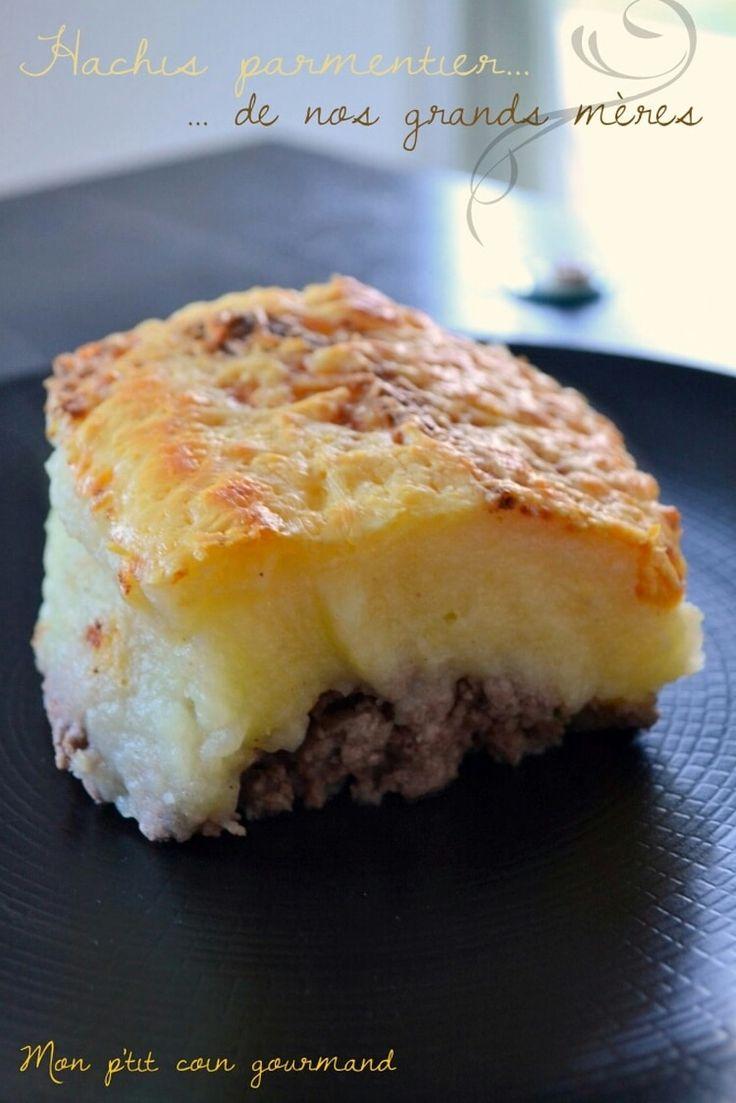 Les 25 meilleures images du tableau plat unique sur pinterest cr pes p tes riz et recette viande - Recette hachis parmentier traditionnel ...
