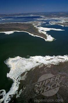 Take a helicopter tour! Salt Flats, Chaplin, Saskatchewan, Canada