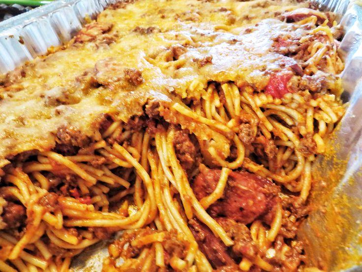 Filipino Style Spaghetti With Banana Tomato Sauce Costco Organic Ground Beef Polish Sausage