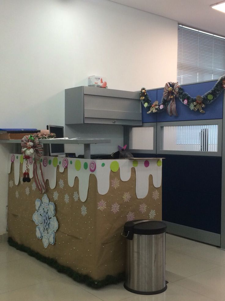 Decoraci n navide a oficina decoraci n especial for Decoracion navidena oficina