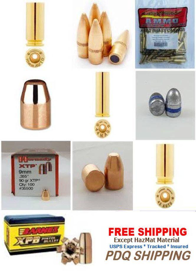 9mm Reloading brass and bullets for sale. Brass and bullets in bulk for sale with Priority Free Shipping.  http://www.usreloadingsupply.com/9mm-reloading-supplies