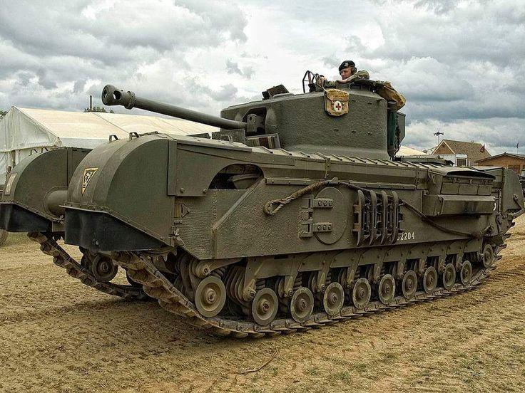 Churchill heavy tank