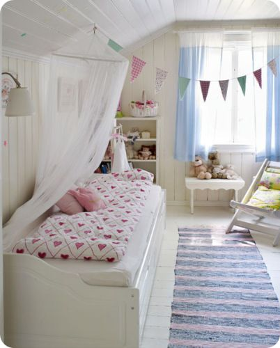 .: Attic Bedrooms, English Homes, Child Rooms, Attic Rooms Kids, Little Girls Rooms, Sweet Girls, Soft Pastel, Girl Rooms, Kids Rooms
