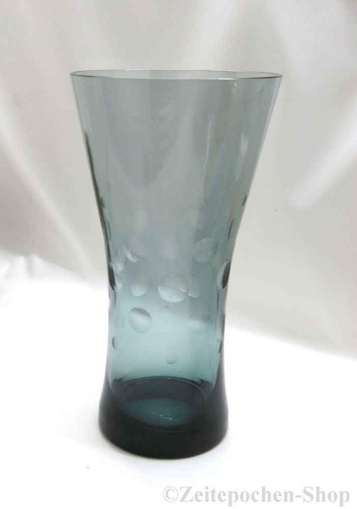 WMF Diabolo Vase mit Kugelschliff - Wilhelm Wagenfeld - 1955 Mid Century Design