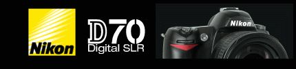 Nikon D70 SLR Review of features and controls