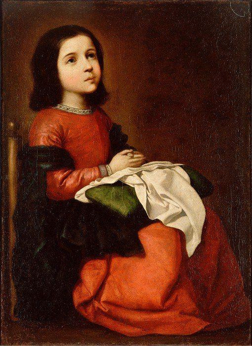 Франсиско де Сурбаран — Детство Богородицы (~1660)