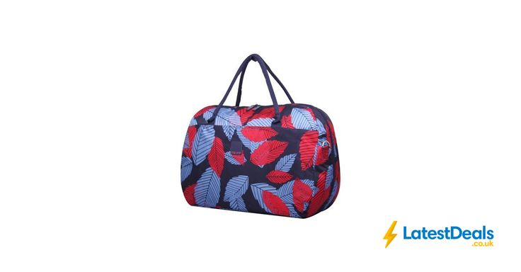 Tripp - Denim blue poppy 'Leaf ' large holdall Save £69, £16 at Debenhams