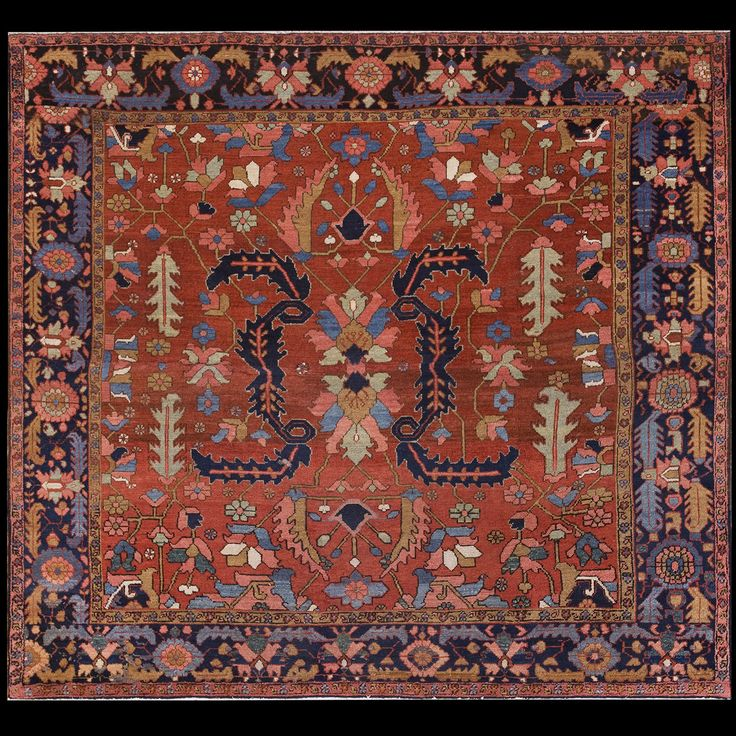 Prayer Rug Types: Best 73 Antique Persian Informal Rugs Ideas On Pinterest