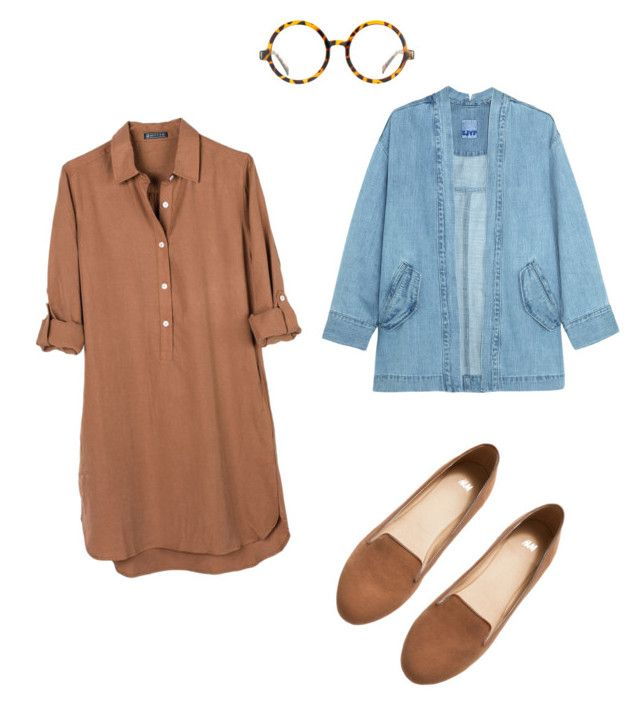 """Set #2"" by boshoffanina on Polyvore featuring H&M, United by Blue, Jeepers Peepers and Steve J & Yoni P"