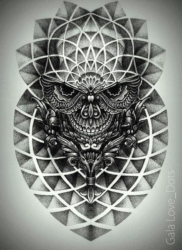 The most beautiful dot design tattoo tattoo concept