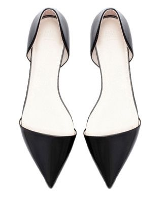 Pointed Flat Shoe