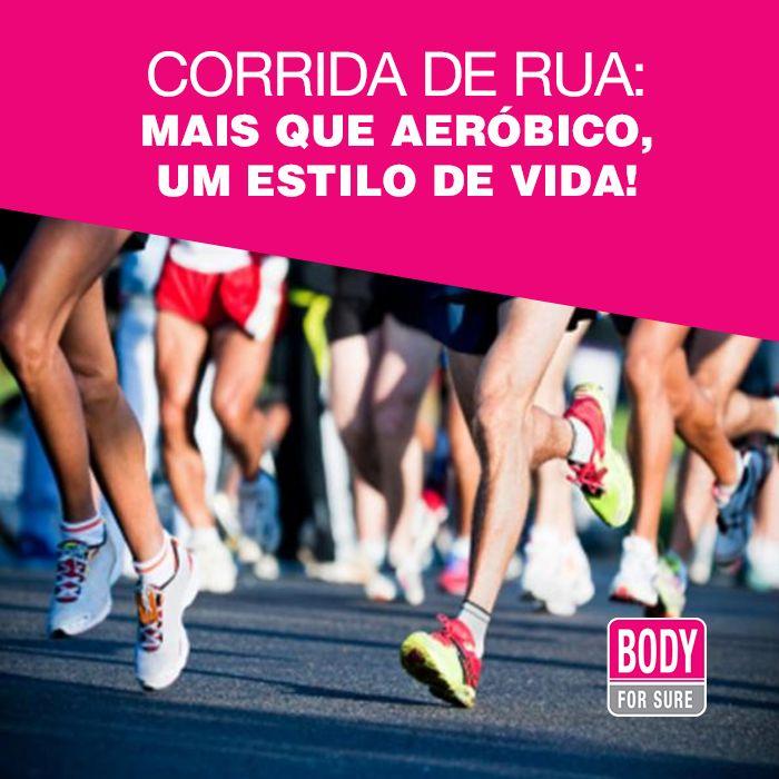 Corrida de rua: mais que aeróbico, um estilo de vida! E aí, você se identifica? #corridaderua #vidadecorredor