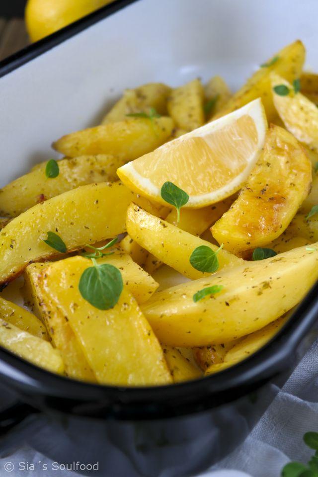 Ofenkartoffeln mit Zitrone