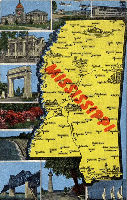 Best Mississippi Images On Pinterest Mississippi Southern - Mississippi state map usa