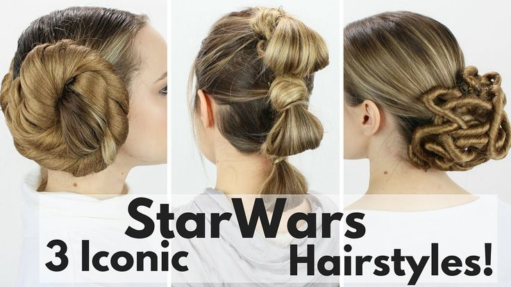 3 Iconic Star Wars Hairstyles Tutorial