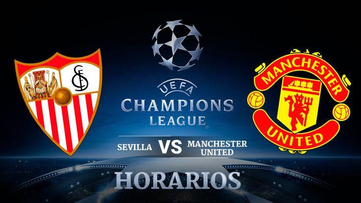 Sevilla  Manchester United: Horario y dónde ver la Champions League en TV